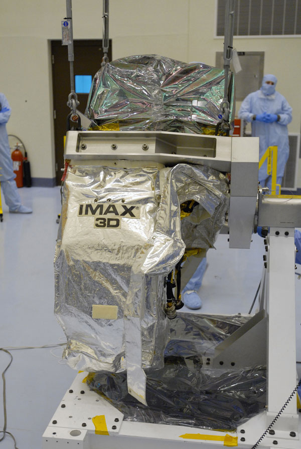 The IMAX 3D camera used in Hubble 3D
