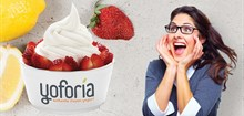 Free Frozen Yogurt! Buy 1 Yoforia Frozen Yogurt and Get the second 1 FREE!