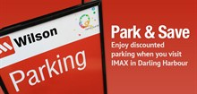 Park & Save at IMAX - $12.00 all day parking in Darling Harbour