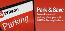 $14.00 all day parking in Darling Harbour at Harbourside Car Park*