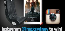 IMAX Sydney Into Darkness INSTAGRAM competition